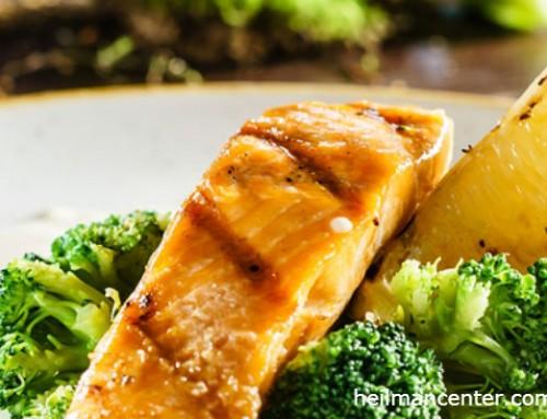 Easy Salmon and Broccoli