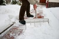 Man shoveling snow Heilman